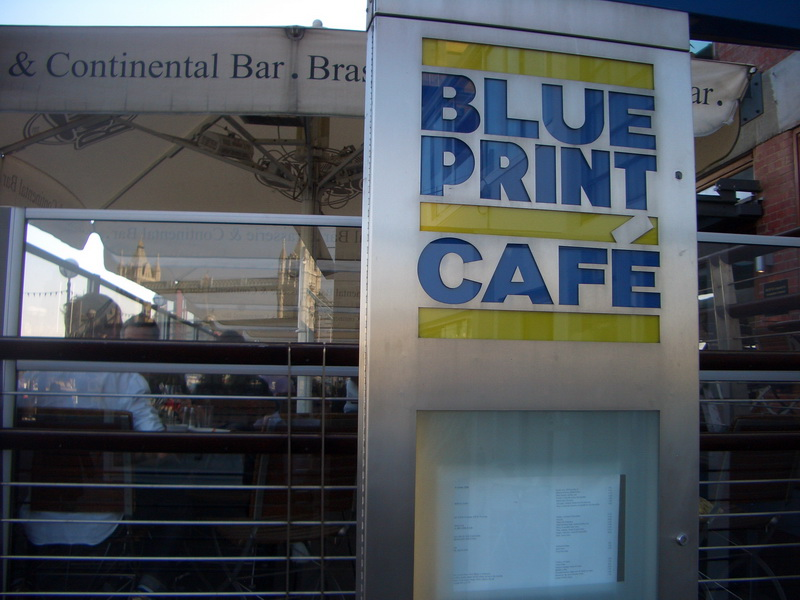 Blueprint cafe genuess with malvernweather