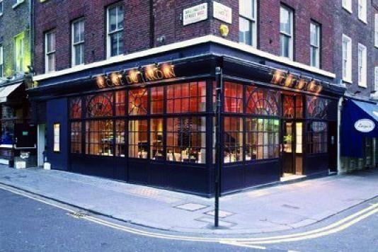 Le Cafe Du Jardin Covent Garden