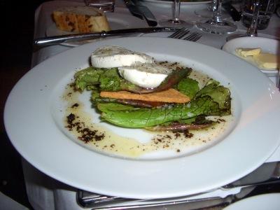 Cake Courgette Mozzarella Menthe