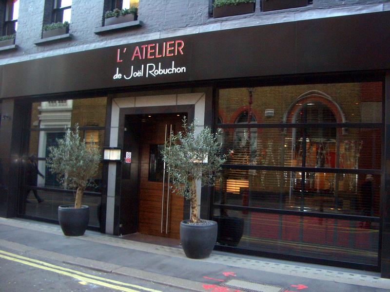 Restaurant L Atelier Biarritz Menu