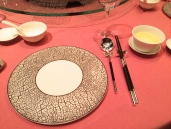 Man Wah Table Setting