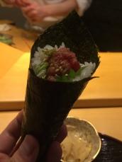 Chopped Fatty Tuna (Negitoro)