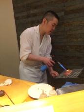 Chef Searing Otoro