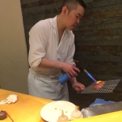 Chef Searing Otoro