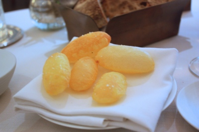 Side Dish with Mains - Horse Fat Pomme Souffle