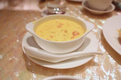 楊枝甘露 Chilled Mango Sweet Soup with Pomelo and Strawberry