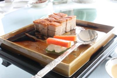 Roasted Pork Belly with Crispy Crust