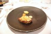 Roast Foie Gras with a Tart Fine of Goldrush Apple