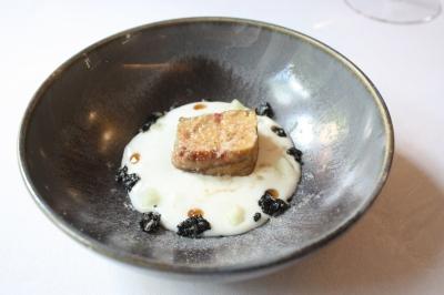 Foie Gras, Basmati Rice, Smoked Eel, Cider Vinegar