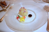 Scottish Langoustine, Strawberry 'Sauce Vierge'