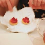 Petit Fours 3 - Raspberry Tartlet