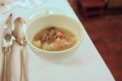 """Duck """"Le Terroir"""" - Soup with Raviolo"""