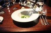 Hoistin Asparagus, Green Peas, Radish