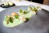 Langoustine/ Avocado/ Lemongrass/ Yuzu/ Sake