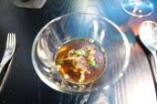 Beef Birmingham soup 1793 - oxtail - parsley - beignets – Version 2