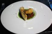 Brixham turbot - Bordelaise - pomme dauphine - black truffle