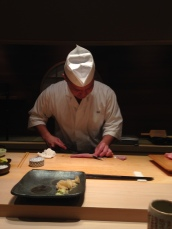 Slicing some Chu-toro