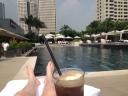 Coke Float by the Pool