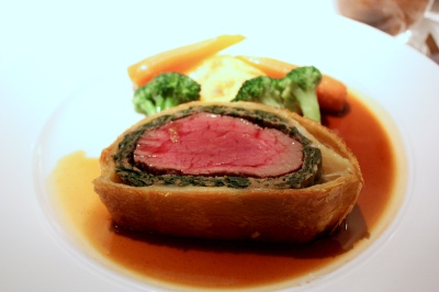 Beef Wellington at The Ritz Restaurant London's Poshest Dishes