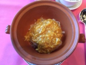 Braised Shanghainese cabbage, hairy crab