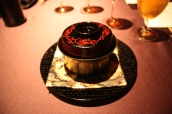 Charcoal grilled Alfonsino with Matsutake Mushroom in an Ichibandashi Soup