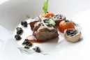 Stewed Wagyu Beef with Carrots & Black Truffles