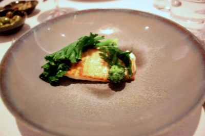 Cornish Turbot, Cauliflower 'Risotto', Purple Sprouting Broccoli