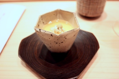Steamed Egg Custard with Japanese Snow Crab