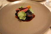 Roe deer, beetroot, cabbage & blackberries