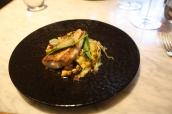 Gurnard, leek, mussel & friseline