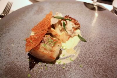 Cornish Turbot, Cauliflower and Bonito Butter
