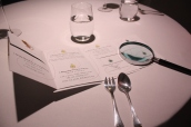 Menu & Magnifying Glass