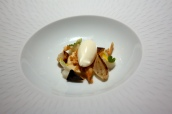 Just the tonic! - Smoked cumin Royale, Jerusalem artichoke ice cream