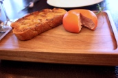 Meat Fruit (c.1500) - Mandarin, chicken liver parfait & grilled bread