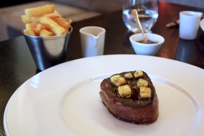 Fillet of Aberdeen Angus (c.1830) - Mushroom ketchup & Triple cooked chips