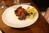 Tandoori Lamb Chops (Kashmiri chilli, ginger, crushed onion, kasundi mooli)