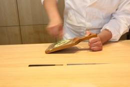 Wasabi Grating on Sharkskin