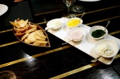 Blinis, Melba Toast & Condiments