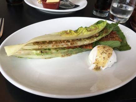 Lyonnaise Salad - Poached Egg, Organic Bacon, Crispy Crouton