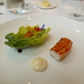 King Crab Salad, Yuzu Mayonnaise, Apple