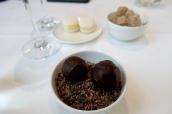 Salted Caramel Truffles; Lemon Curd Macaroons