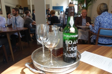 A light Duck Consomme & Hundred Year Old Madeira