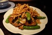 Stir Fried Peking Duck with XO Sauce