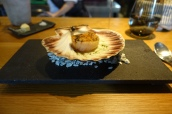 Scallop, Soy Butter, Seaweed