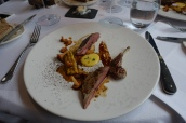 Yorkshire Grouse, Sweetcorn, Girolles and Brioche