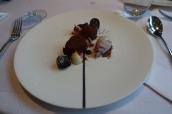 Chocolate, Dark Chocolate Chantilly and Cherries