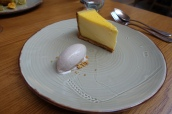 Egg Custard Tart, Nutmeg Ice Cream