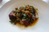 Ox Heart & Pickled Walnuts
