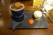 Chocolate Fondant, Peanut Butter Ice Cream