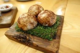 Wild mushroom and truffle steamed bun